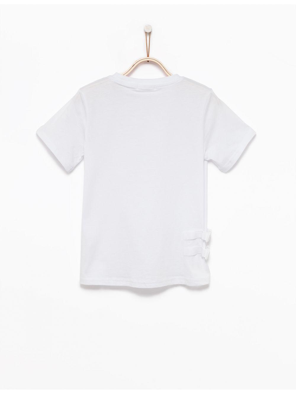 חולצת טי Active עם כיס ניילון