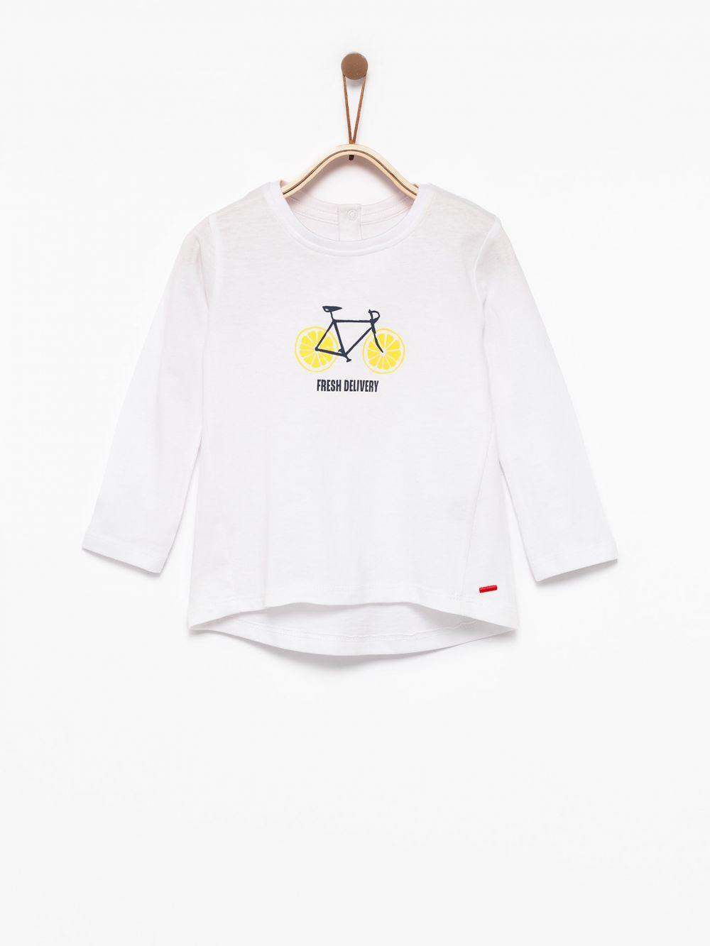 חולצת טי אופניים לימונים