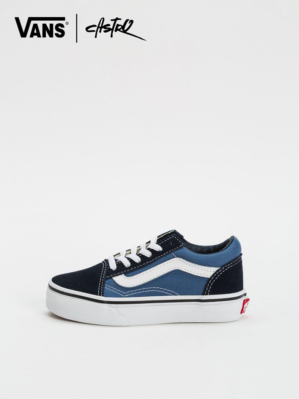 סניקרס Vans כחול שחור
