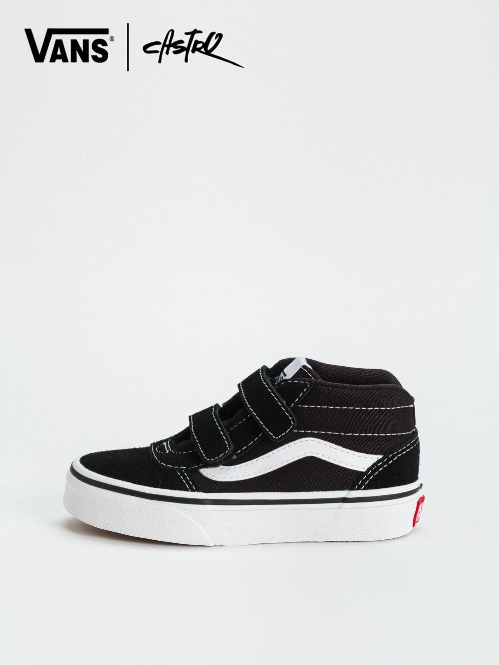 נעלי Vans שחורות גבוהות / ילדים יוניסקס