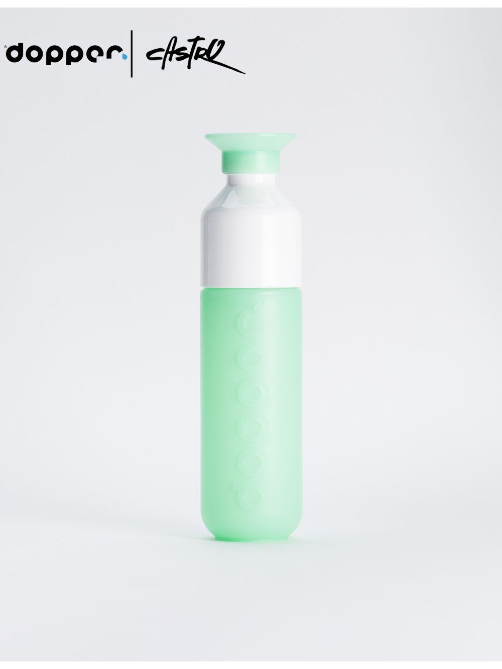 בקבוק שתיה DOOPER רב פעמי 450 מל בצבע מנטה