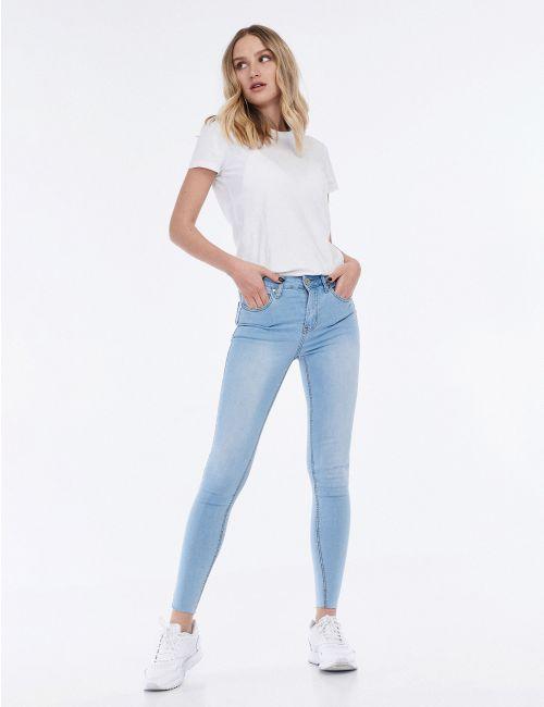 ג'ינס SARAI בגזרה גבוהה - בחרי את אורך הג'ינס!