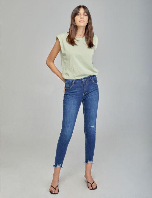ג'ינס Namoi עם מכפלת גזורה