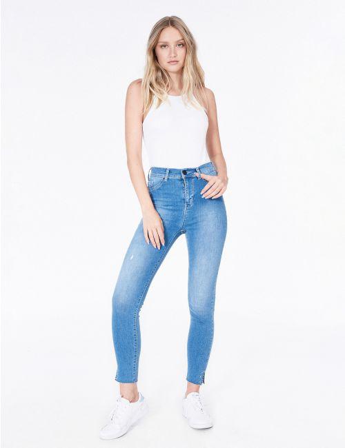 ג'ינס Skinny מכפלת עיניות