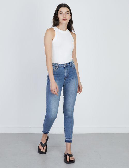 ג'ינס SARAI Skinny מכפלת פרומה