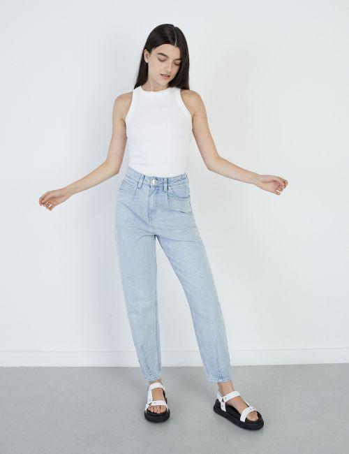 ג'ינס BAGGY בגזרה רחבה