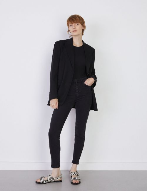 ג'ינס SARAI Skinny עם כפתורים