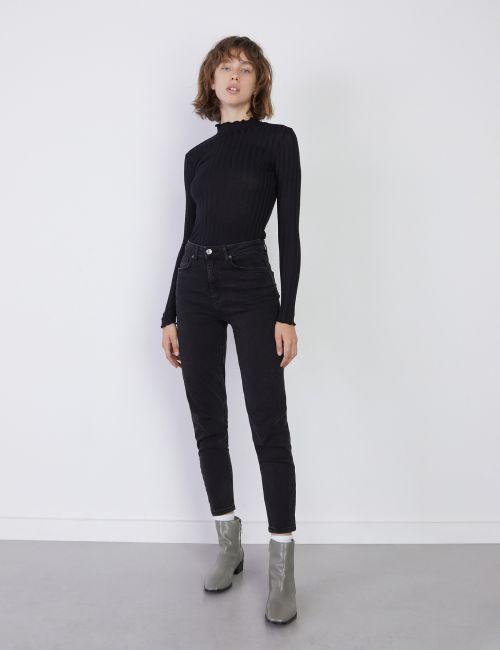 ג'ינס MOM בגזרת Slim