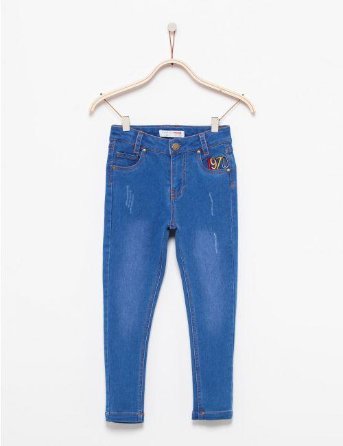 ג'ינס סקיני בעיצוב רטרו