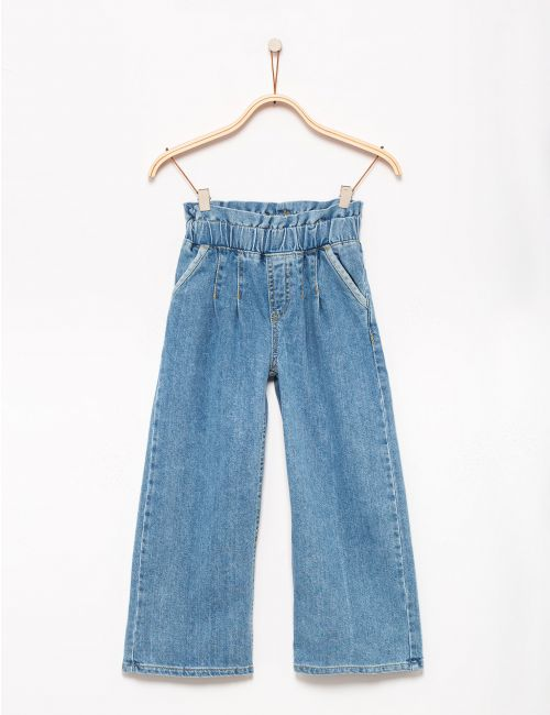 מכנסי ג'ינס פייפרבאג מתרחבים