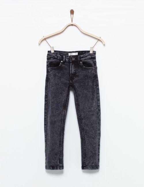 ג'ינס סקיני שחור ווש