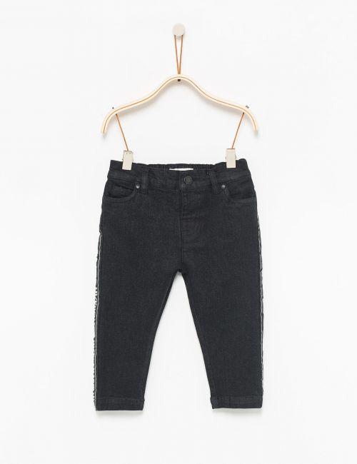 ג'ינס עם פסי צד