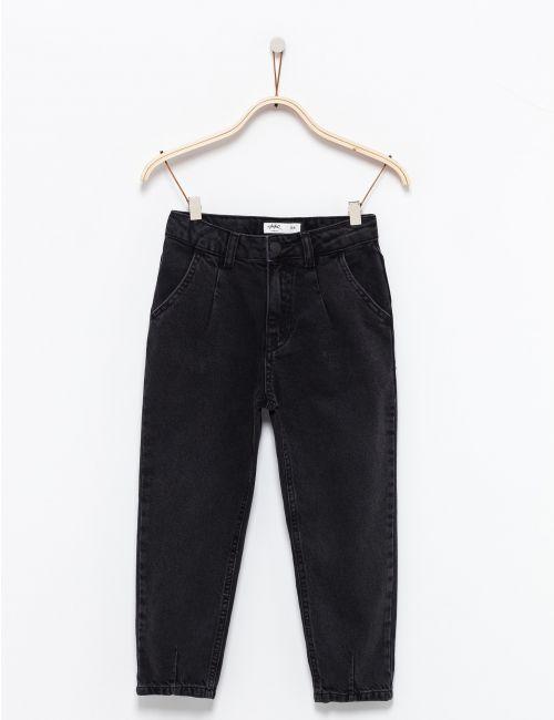 ג'ינס ארוך בגזרה רחבה