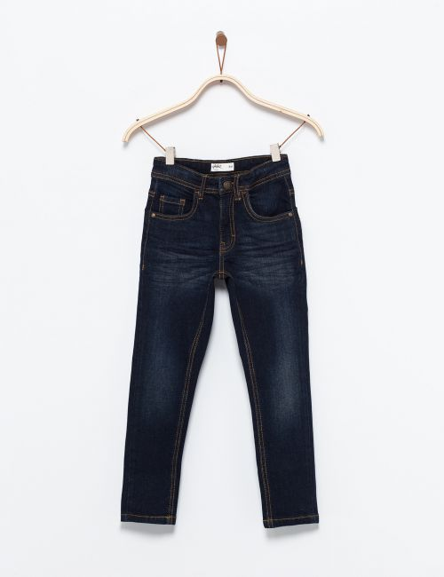 ג'ינס קלאסי כחול כהה
