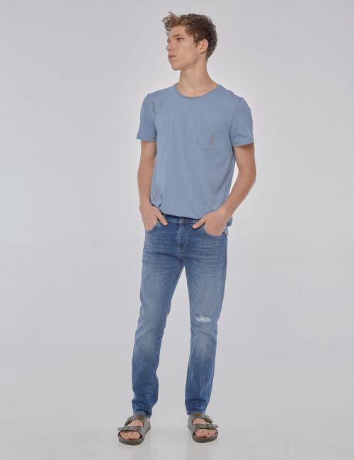 ג'ינס JOSEPH Super Slim וינטאג' עם קרעים