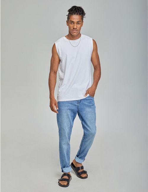 ג'ינס Daniel Super Skinny עם חגורת שרוך