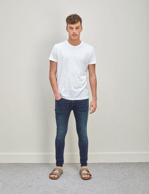 ג'ינס Daniel super skinny סרוג