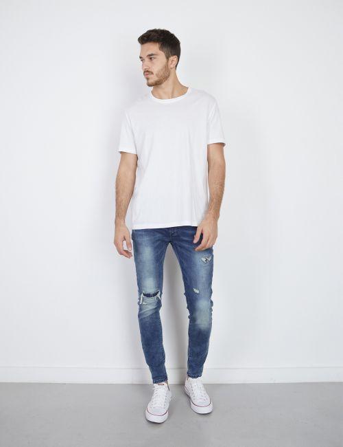 ג'ינס DANIEL Super Skinny עם קרעים