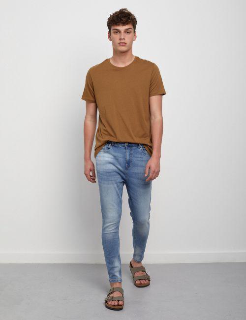ג'ינס SIMON Carrot במראה מכובס