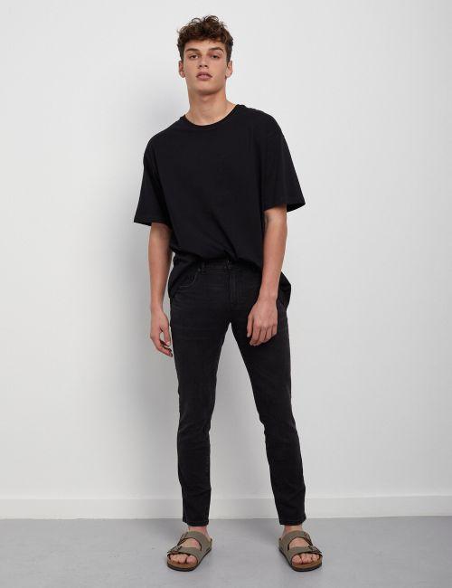 ג'ינס JOSEPH Super Slim שחור במראה מכובס