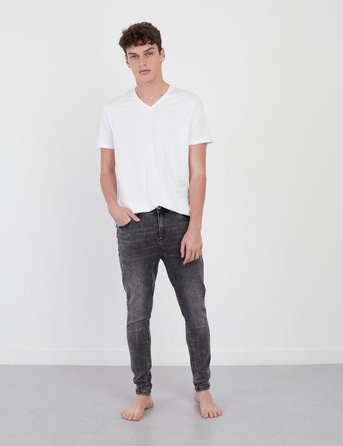 ג'ינס DANIEL Super Skinny שחור מכובס