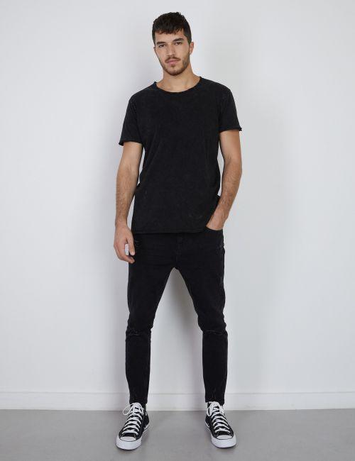 ג'ינס DANIEL Super Skinny במראה מכובס וקרעים