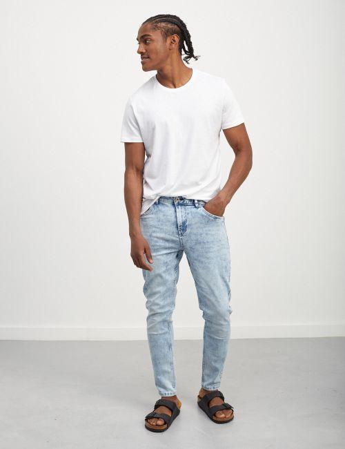 ג'ינס DANIEL Super Skinny במראה מכובס