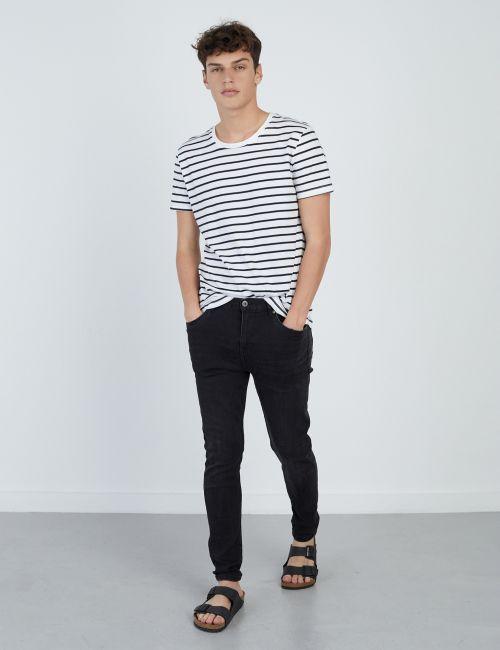 ג'ינס DANIEL Super Skinny במראה שחור מכובס