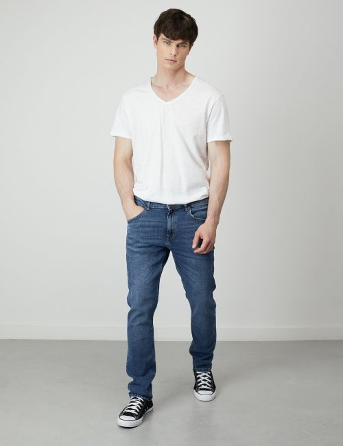 ג'ינס MOSES Slim במראה וינטאג'