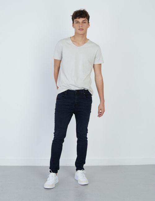 ג'ינס DANIEL Super Skinny כחול שחור