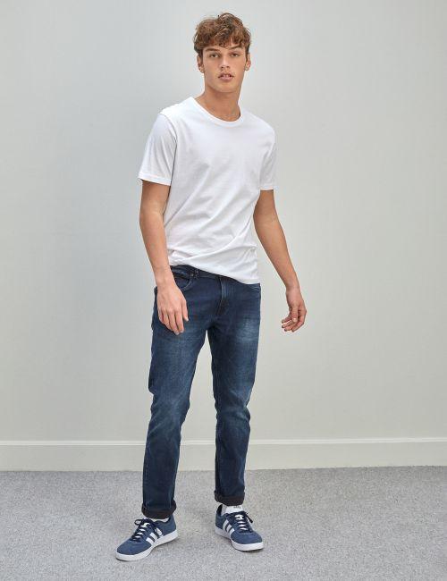 ג'ינס MOSES Slim ווש