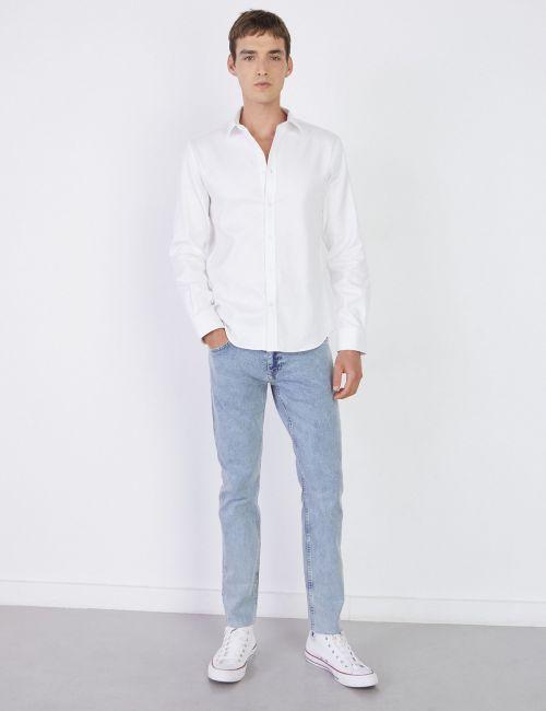 ג'ינס MOSES Slim כחול בהיר