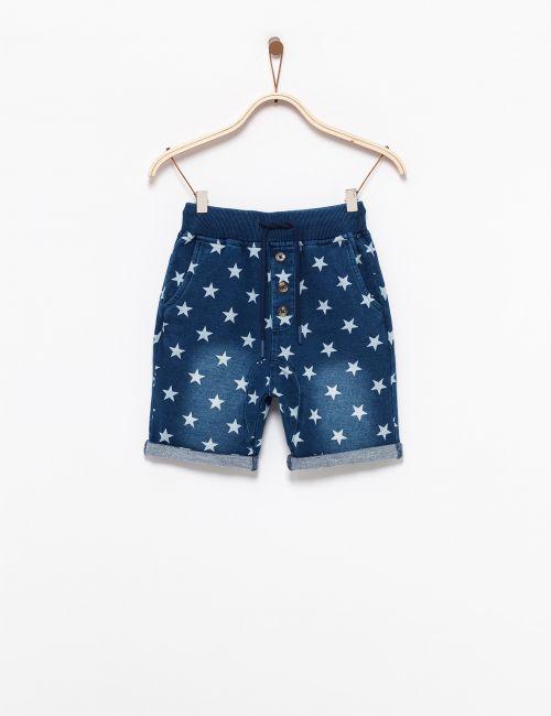 מכנסיים במראה ג'ינס כוכבים