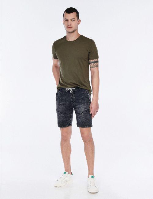 מכנסי גי'נס ג'וגר קצרים