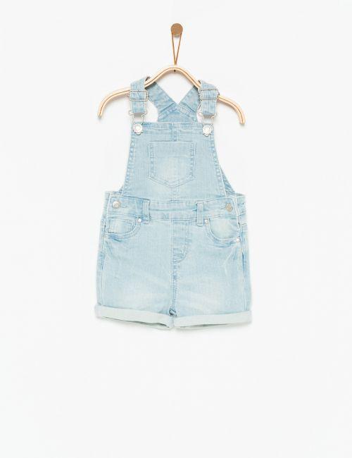אוברול ג'ינס קצר