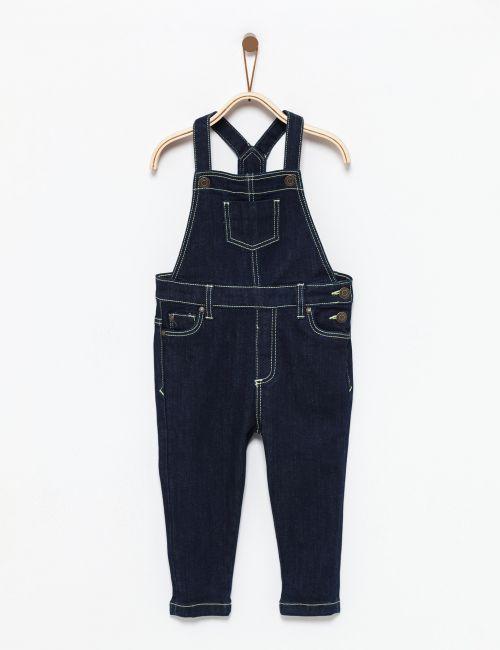 אוברול ג'ינס עם תיפורים