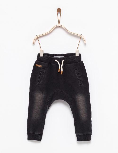 מכנסיים במראה ג'ינס עם כיסים