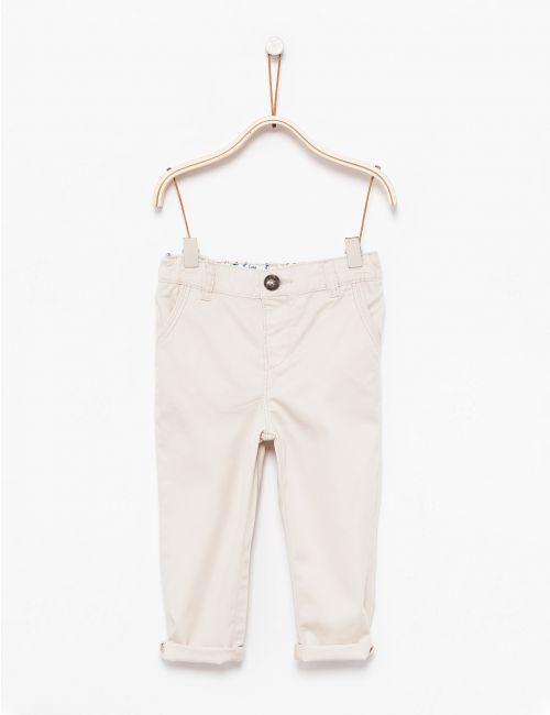 מכנסי צ'ינו ארוכים בגזרה ישרה