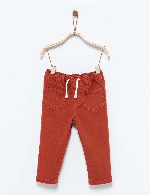 ג'ינס עם כיסים ושרוך קשירה