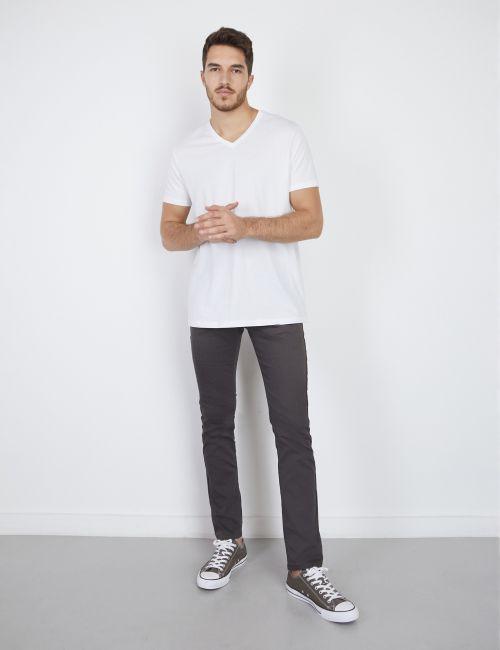 מכנסי סקיני עם כיסים