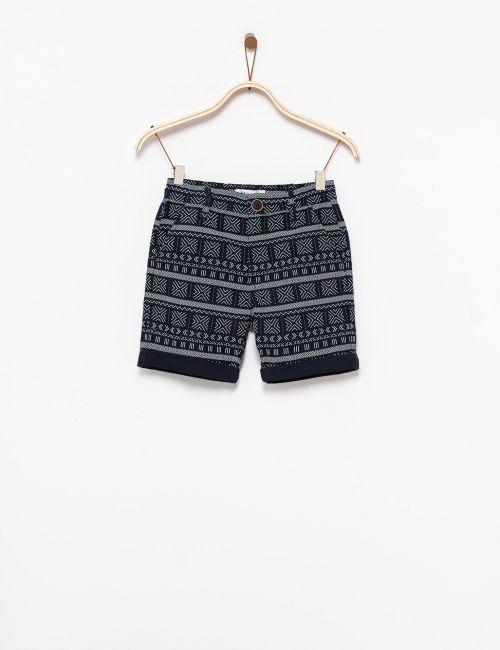 מכנסיים קצרים מודפסים