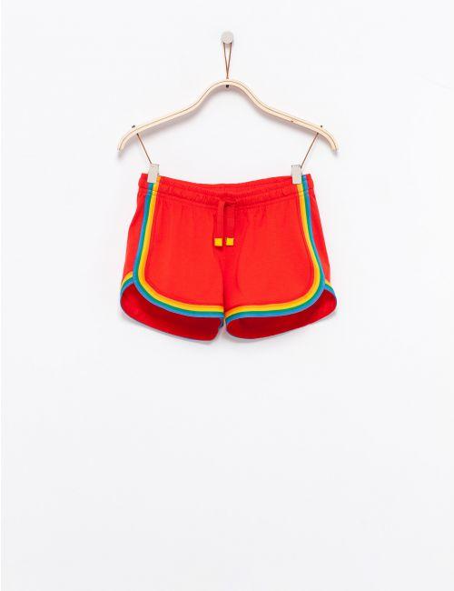 מכנסיים קצרים בהדפס קשת