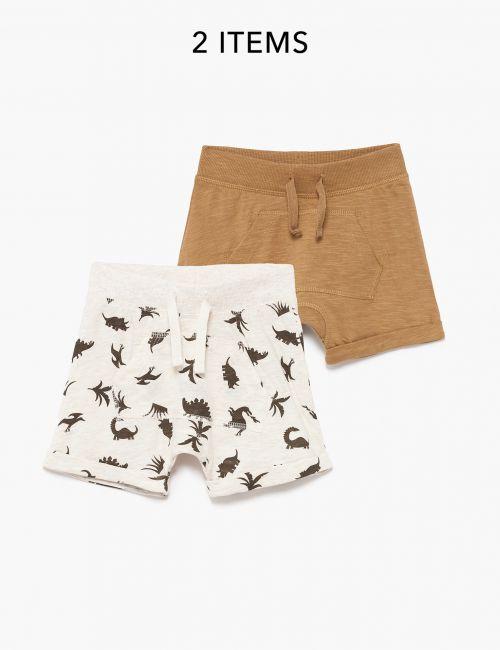 מארז 2 זוגות מכנסיים קצרים