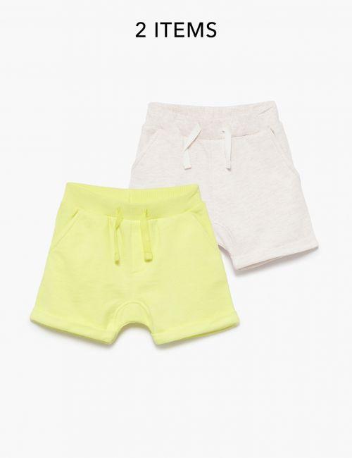 מארז 2 זוגות מכנסיים חלקים