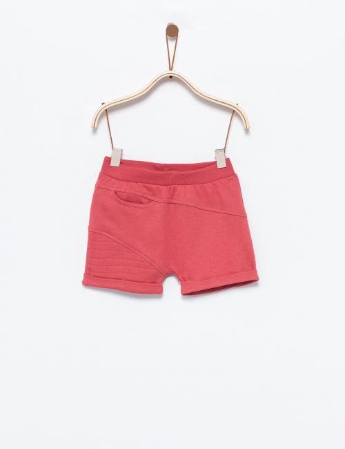מכנסי קווילט קצרים