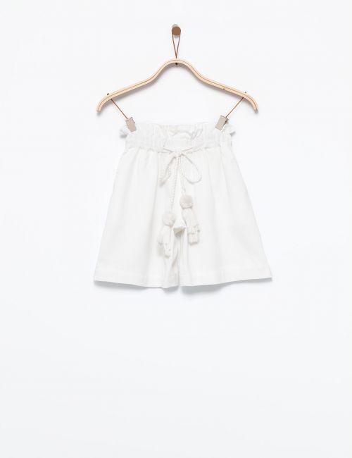 מכנסיים עם חגרות גדילים