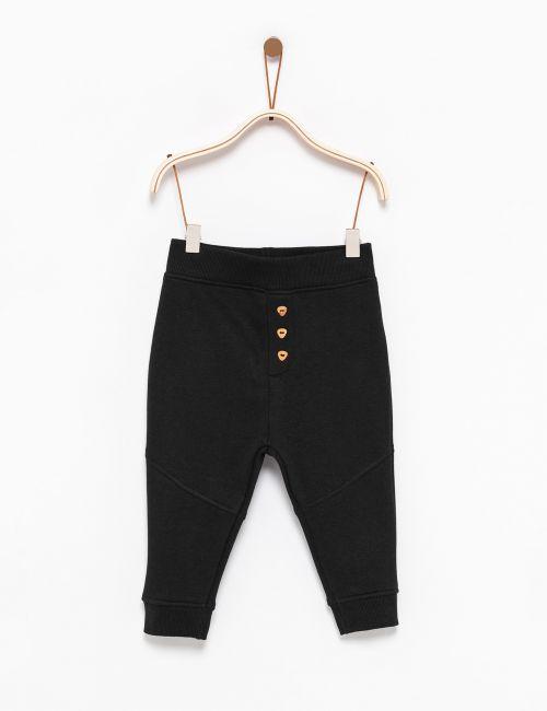 מכנסי פוטר עם כפתורים