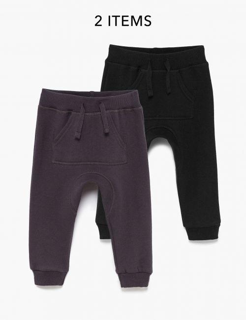 מארז 2 זוגות מכנסי פוטר עם כיס