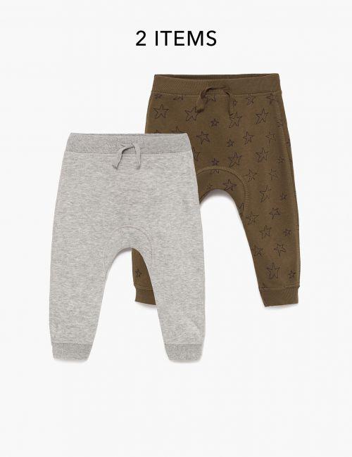 מארז 2 זוגות מכנסי פוטר מודפסים