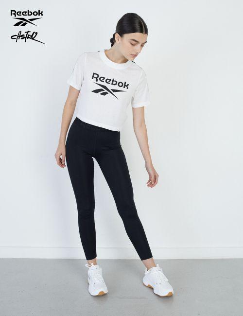 טייץ Reebok עם גומי ולוגו